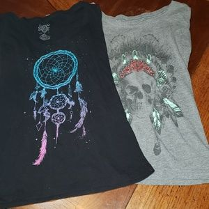 2 Native Inspired Tees